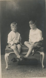 Daddy and Uncle Laurence c 1931 copy